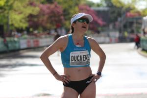 masters athlete Krista DuChene