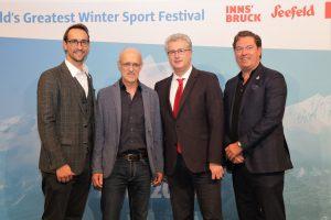 Georg Spazier, Toni Innauer, Roger Bader, Jens v. Holm