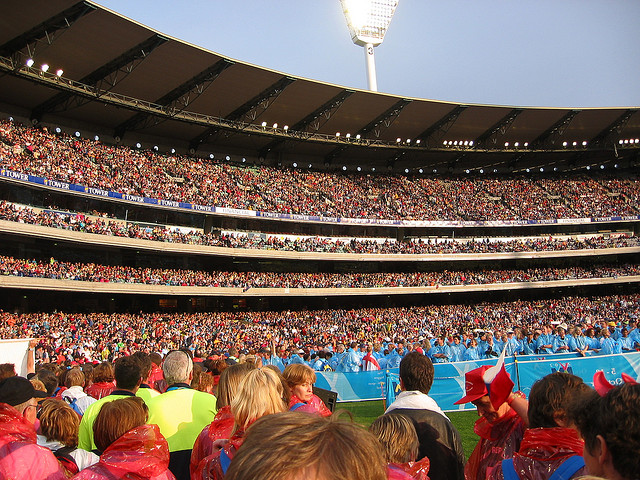 Melbourne Opening ceremony